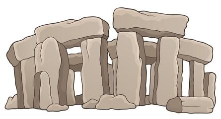 Ancient stone monument theme 1