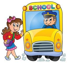 Image with school bus theme 7