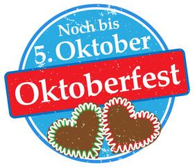 Noch bis 5. Oktober Oktoberfest