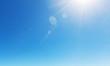 Leinwanddruck Bild - Blue sky