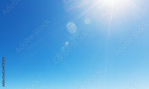 Foto op Aluminium Hemel Blue sky