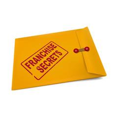 franchise secrets on manila envelope