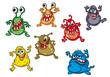 Danger cartoon monsters