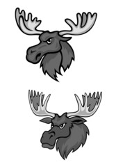 Cartoon elks