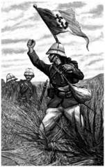 Soldiers - Infanterie de Marine - 19th century