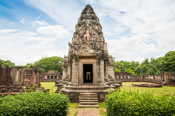 historic Prasat Hin Phimai Castle at Nakhon Ratchasima Province