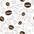 Coffee beans pattern - 68798070