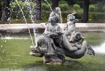 Brunnen am Friedensengel