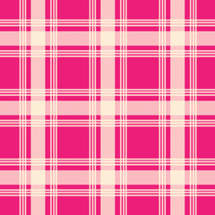 pink color urban plaid pattern
