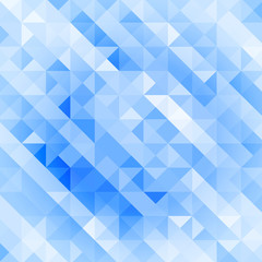 ocean blue retro style geometric pattern