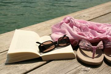 Lesen am Wasser