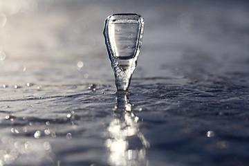 beautiful icicle