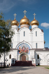 Успенский собор в Ярославле, Россия.