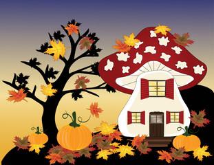 Im Fliegenpilzland ist es Herbst
