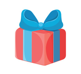 Vector Gift Box Flat Icon