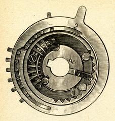 Pinwheel disk from Odhner Arithmometer