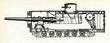 Постер, плакат: Mendeleev Rybinsk Super Heavy Tank project 1911
