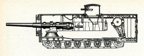 Mendeleev Rybinsk Super Heavy Tank (project, 1911)