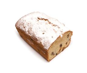 rectangular cake on a white background