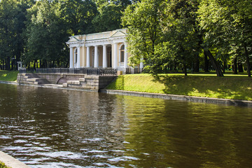 St. Petersburg, Russia.  bank of the channel