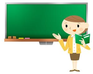 授業する先生