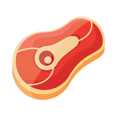 Vector Meat Icon