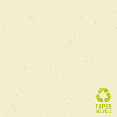Paper cream recycle design background