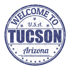 Welcome to Tucson stamp