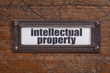 intellectual property label