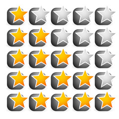 Cool star rating