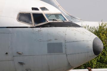 Abandoned Passenger Plane