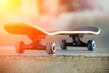 .Used skateboard