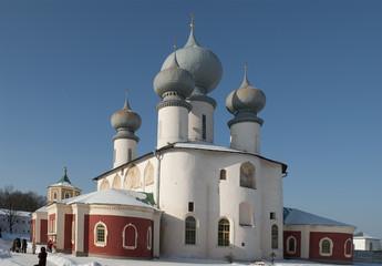 Собор Успения Пресвятой Богородицы в Тихвинском  монастыре