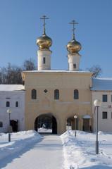 Церковь Вознесения Господня в Тихвинском Успенском монастыре