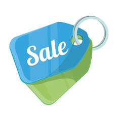 Vector Sale Tag Flat Icon