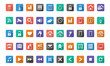 Home automation, Smart home  icon set, Vector images - 68806600
