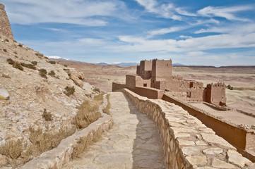 Ait Ben Haddou at Morocco