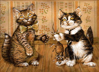 Cat and Mouse 2, series of cards