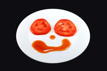 tomatoes Smile