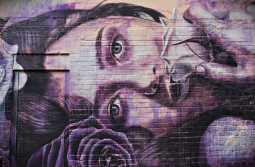 Londra, i graffiti di Brick Lane