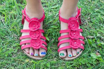 children`s feet