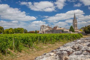 Saint-Émilion et ses vignobles