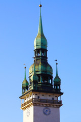 Brno townhall tower