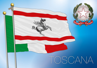 tuscany regional flag