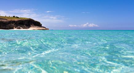 Kuba Küstenlinie von Havanna mittürkisen Wasser