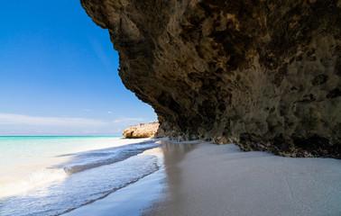 Kuba Küstenlinie von Havanna mit Badebucht