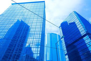 glass building in hong kong