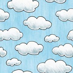 Hand Drawn Cloud Texture