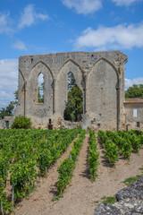 La grande muraille de Saint-Emilion