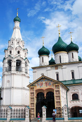 Elijah the Prophet Church, Yaroslavl, Russia. UNESCO Heritage.